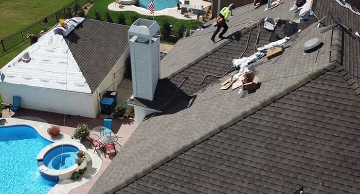 Roofing Specialists In Action